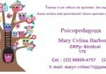 Psicopedagoga Marye